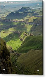 Royal Natal National Park Acrylic Print by Bob Gibbons