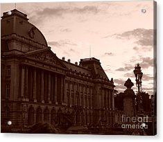 Royal Palace Brussels Acrylic Print