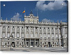 Royal Palace Of Madrid Acrylic Print by Farol Tomson
