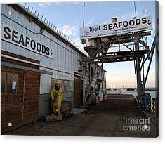 Royal Seafoods Monterey Acrylic Print