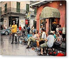 Royal Street Jazz Acrylic Print