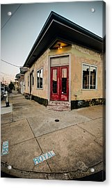 Royal Street Landerette In The Marigny Of New Orleans Acrylic Print by Ray Devlin