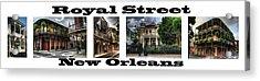 Royal Street New Orleans Acrylic Print
