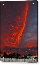 Royal Sunset Acrylic Print