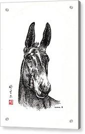Royalty Acrylic Print by Bill Searle