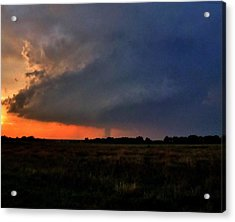Acrylic Print featuring the photograph Rozel Tornado by Ed Sweeney