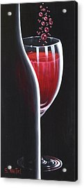 Acrylic Print featuring the painting R.s.v.p. Requested by Sandi Whetzel