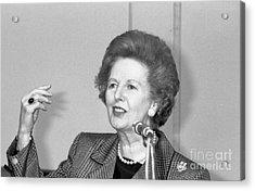 Rt.hon. Margaret Thatcher Acrylic Print