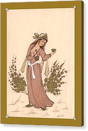 Rubaiyat Acrylic Print by Herbert French
