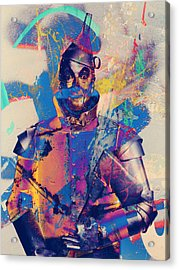 Rubber Tin Man  Acrylic Print