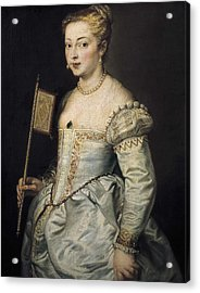 Rubens, Peter Paul 1577-1640. A Woman Acrylic Print by Everett