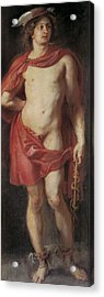 Rubens, Peter Paul 1577-1640. Mercury Acrylic Print by Everett
