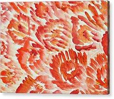 Rubicund Sea Acrylic Print by Sonali Gangane