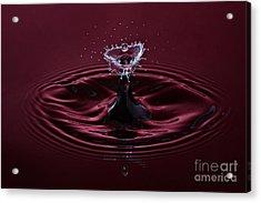 Rubies And Diamonds Acrylic Print by Susan Candelario