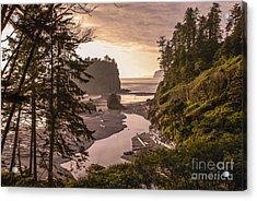 Ruby Beach Landscape Acrylic Print