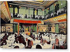 Ruby Foo Den Chinese Restaurant In New York City Acrylic Print by Dwight Goss