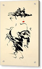 Ruby Acrylic Print by Giannelli
