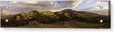Ruby Mountain Panorama Acrylic Print