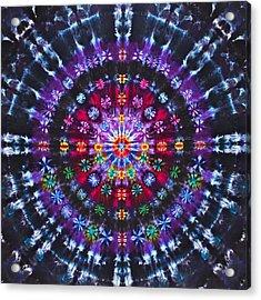 Ruby Quasar Acrylic Print by Courtenay Pollock