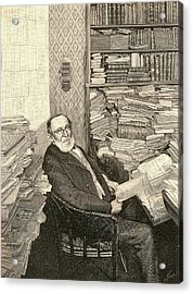 Rudolph Virchow Acrylic Print by Universal History Archive/uig