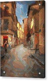 Rue Du Doyenne Acrylic Print