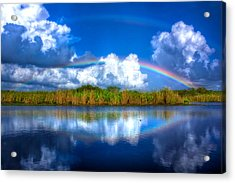 Rue's Rainbow Acrylic Print