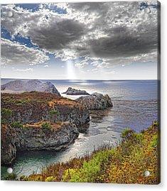 Rugged California Coastline Acrylic Print