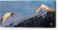 Rugged Ridge Acrylic Print by Karen Horn