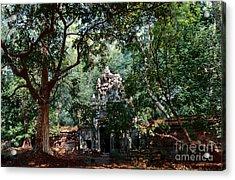 Ruin At Angkor Wat Acrylic Print