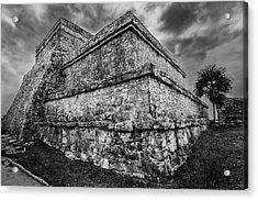Ruin At Tulum Acrylic Print
