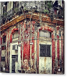 Ruins - Havana once Upon A Time Acrylic Print