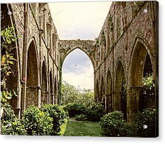 Ruins Abbaye De Beauport Paimpol Bretagne Acrylic Print