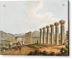 Ruins Of An Aqueduct Near Ephesus, 1810 Acrylic Print