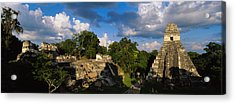 Ruins Of An Old Temple, Tikal, Guatemala Acrylic Print by Panoramic Images