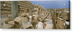 Ruins Of Ancient Roman City, Leptis Acrylic Print by Panoramic Images