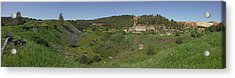 Ruins Of Buildings And Mining Effects Acrylic Print by Panoramic Images