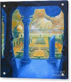 Ruins Of Lankapura Acrylic Print by Samantha Geernaert