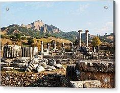 Ruins Of The Temple Of Artemis  Sardis Acrylic Print