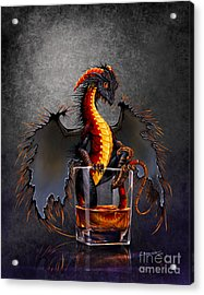 Rum Dragon Acrylic Print by Stanley Morrison