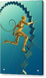 Run 051414 Acrylic Print by Matt Lindley