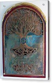 Runes For Restoration Acrylic Print