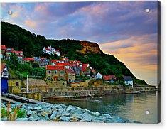 Runswick Bay England Acrylic Print