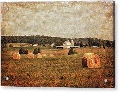 Rural America Acrylic Print by Kim Hojnacki