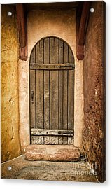 Rural Arch Door Acrylic Print
