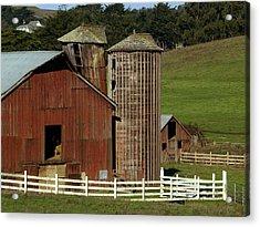Rural Barn Acrylic Print