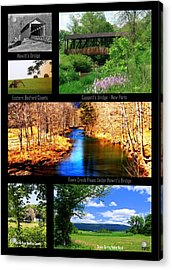 Rural Bedford County Acrylic Print