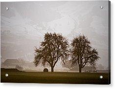 Acrylic Print featuring the photograph Rural Landscape #4 by Antonio Jorge Nunes