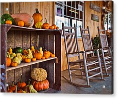Rural Market Acrylic Print