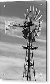 Rural Nebraska Windmill Acrylic Print