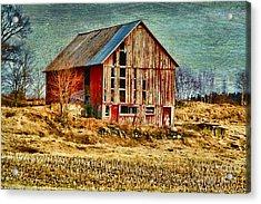 Rural Rustic Vermont Scene Acrylic Print